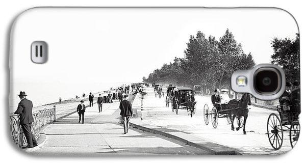 North Lake Shore Drive - Chicago 1905 Galaxy S4 Case by Daniel Hagerman