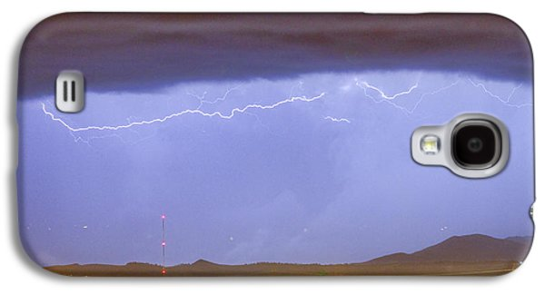 Northern Colorado Rocky Mountain Front Range Lightning Storm  Galaxy S4 Case by James BO  Insogna