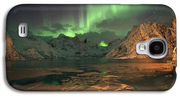 Northern Light In Lofoten, Nordland 1 Galaxy S4 Case