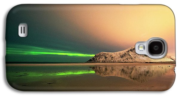 Northern Light In Lofoten Nordland 5 Galaxy S4 Case
