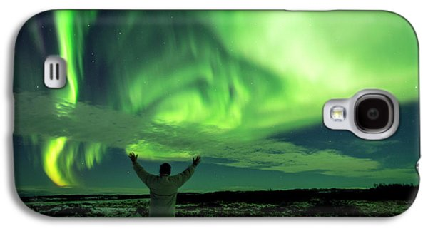 Northern Light In Western Iceland Galaxy S4 Case