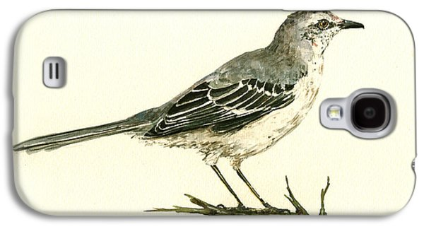 Northern Mockingbird Galaxy S4 Case by Juan  Bosco