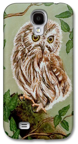 Northern Saw-whet Owl Galaxy S4 Case
