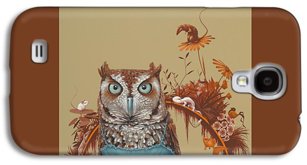 Mice Galaxy S4 Case - Northern Screech Owl by Jasper Oostland