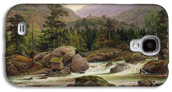 Norwegian Waterfall Galaxy S4 Case by Thomas Fearnley