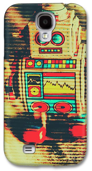 Nostalgic Tin Sign Robot Galaxy S4 Case