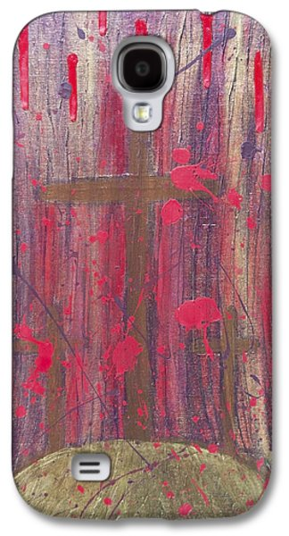 Atonement Galaxy S4 Cases - Not In Vain Galaxy S4 Case by Angelina Vick