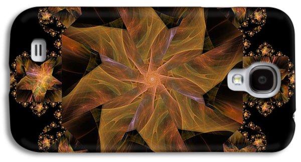 Not So Black Star / Kaleidoscope   Galaxy S4 Case by Elizabeth McTaggart
