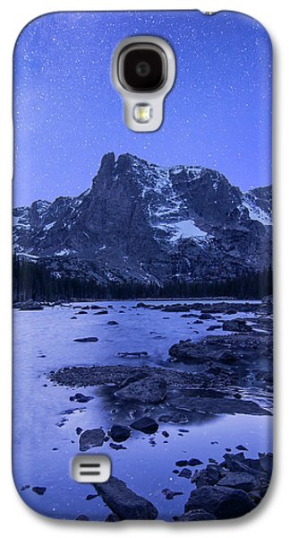 Galaxy S4 Case featuring the photograph Notchtop Night Vertical by Aaron Spong