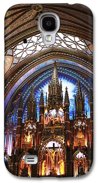Notre Dame Ceiling Galaxy S4 Case by John Rizzuto