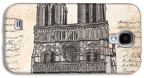 Notre Dame De Paris Galaxy S4 Case by Debbie DeWitt