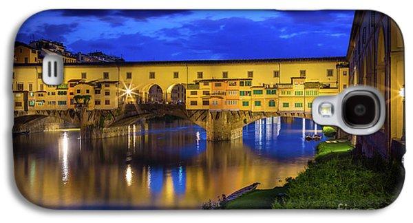 Notte A Ponte Vecchio Galaxy S4 Case