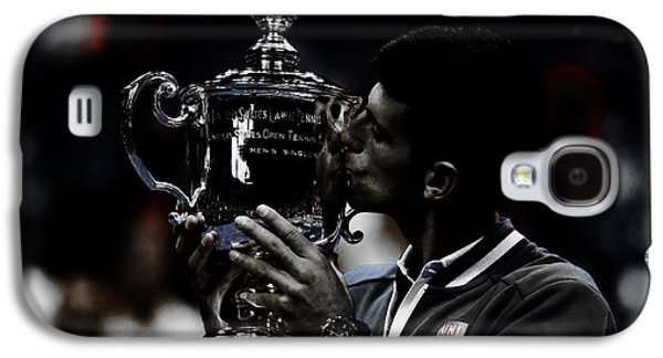 Novak Djokovic Galaxy S4 Case by Brian Reaves