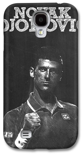 Novak Djokovic Galaxy S4 Case by Semih Yurdabak