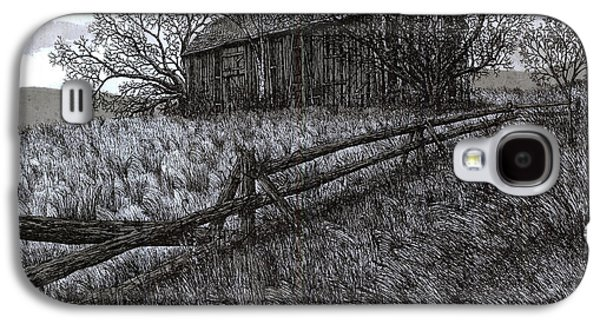 November At The Farm Galaxy S4 Case by Jonathan Baldock