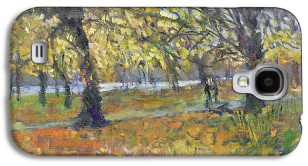 November In Hyde Park Galaxy S4 Case by Patricia Espir