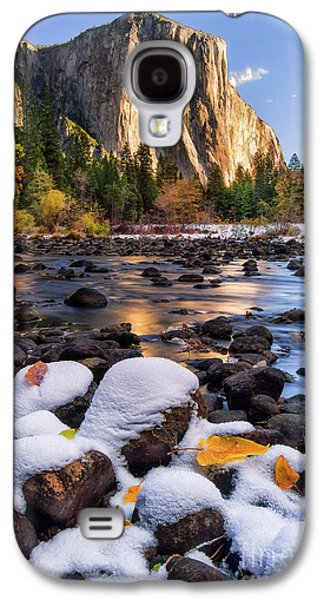 Mountain Galaxy S4 Case - November Morning by Anthony Michael Bonafede
