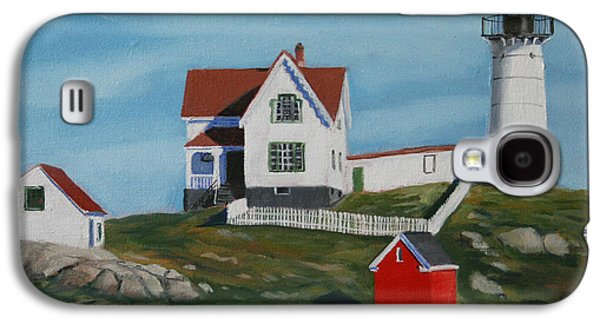 Nubble Light House Galaxy S4 Case by Paul Walsh