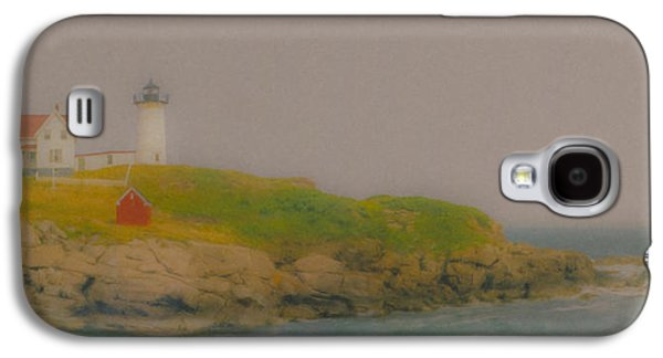 Nubble Light In York, Maine Galaxy S4 Case by Bill McEntee