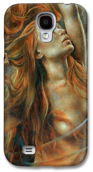 Nude Dinamik Galaxy S4 Case by Arthur Braginsky