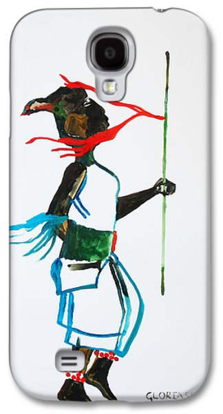 Nuer Dance - South Sudan Galaxy S4 Case by Gloria Ssali