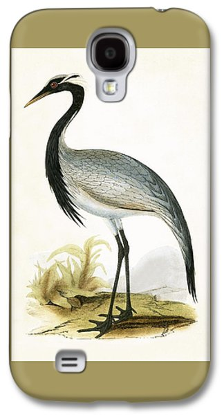 Numidian Crane Galaxy S4 Case by English School