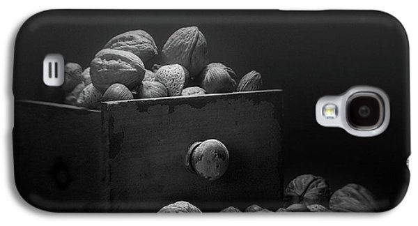Nuts In Black And White Galaxy S4 Case by Tom Mc Nemar