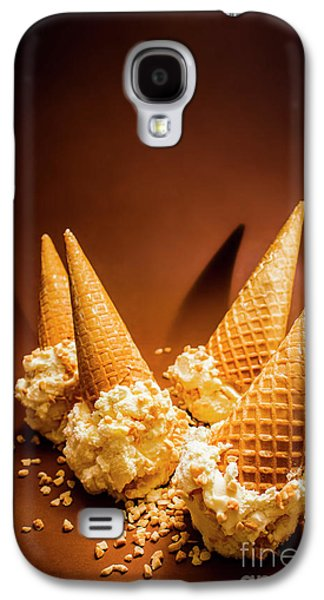 Studio Galaxy S4 Case - Nuts Over Ice-cream. Birthday Party Background by Jorgo Photography - Wall Art Gallery