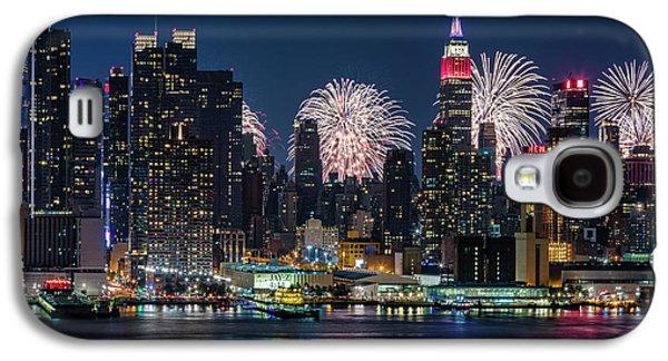 Nyc 4th Of July Fireworks Celebration Galaxy S4 Case