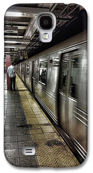 Nyc Subway Galaxy S4 Case by Martin Newman
