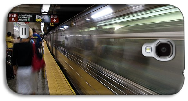 Nyc Subway Galaxy S4 Case by Sebastian Musial
