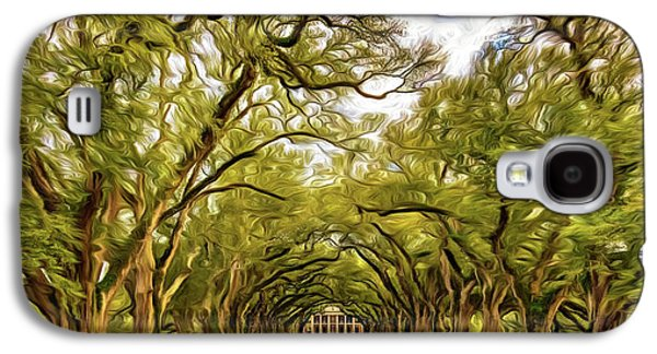 Oak Alley 6 - Paint Galaxy S4 Case by Steve Harrington