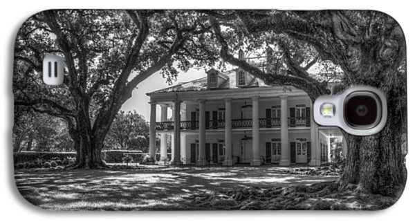 Oak Alley Plantation-bw Galaxy S4 Case