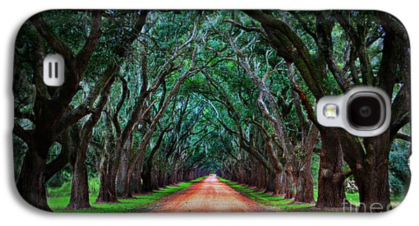 Oak Alley Road Galaxy S4 Case