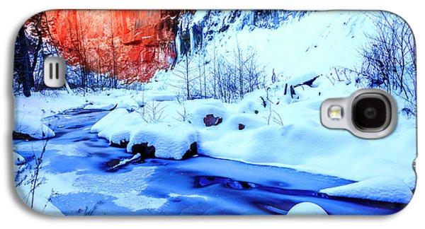 Oak Creek In Winter Galaxy S4 Case by Alexey Stiop
