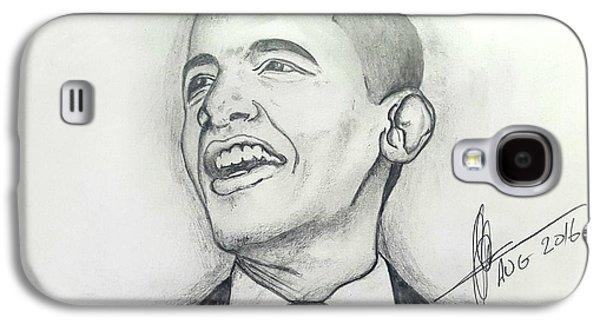Obama 3 Galaxy S4 Case by Collin A Clarke