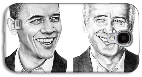 Obama Biden Galaxy S4 Case by Murphy Elliott