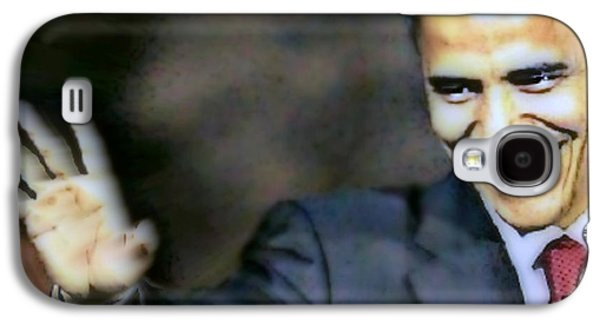 Obama Galaxy S4 Case by Wbk