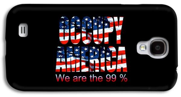 Occupy America 99 Percent Design Galaxy S4 Case