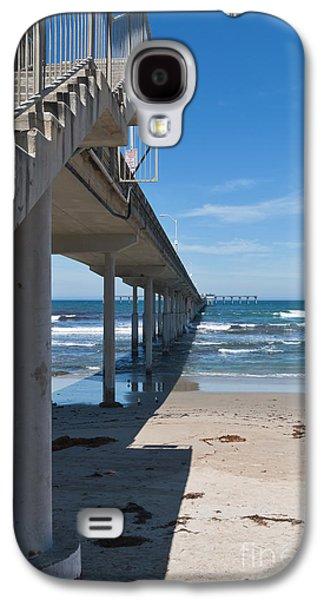Ocean Beach Pier Stairs Galaxy S4 Case