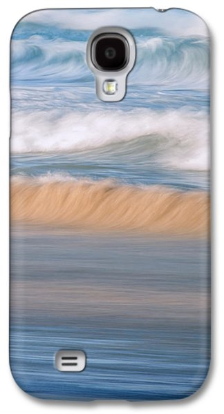 Ocean Caress Galaxy S4 Case by Az Jackson