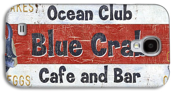 Ocean Club Cafe Galaxy S4 Case