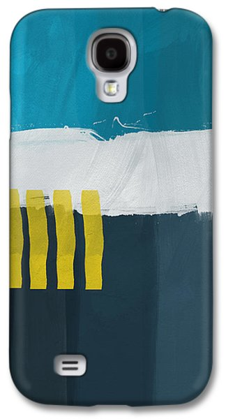 Ocean Front Walk 2- Art By Linda Woods Galaxy S4 Case by Linda Woods