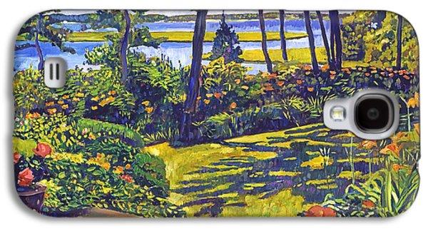 Ocean Lagoon Garden Galaxy S4 Case by David Lloyd Glover