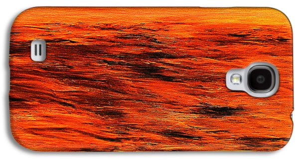 Ocean Of Weathered Thoughts Galaxy S4 Case by Rick Maxwell