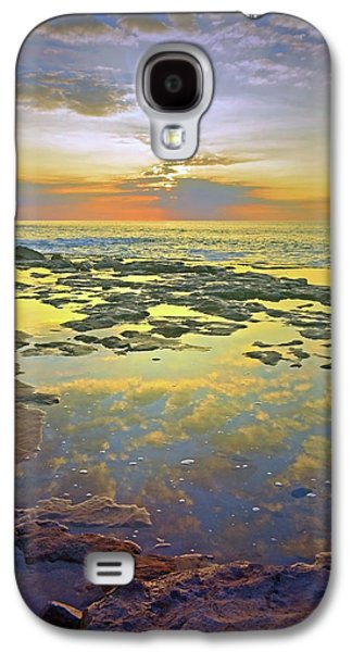 Ocean Puddles At Sunset On Molokai Galaxy S4 Case by Tara Turner