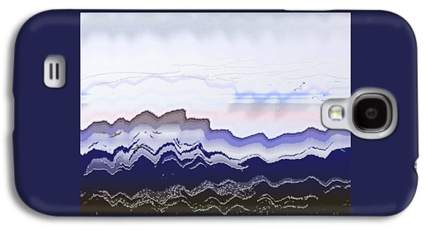 Waterscape Galaxy S4 Case - Ocean Waves by Lenore Senior