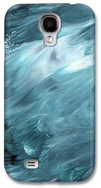 Oceanside 2- Art By Linda Woods Galaxy S4 Case