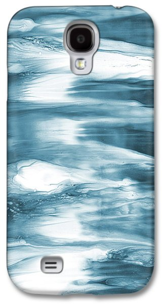 Oceanside- Abstract Art By Linda Woods Galaxy S4 Case