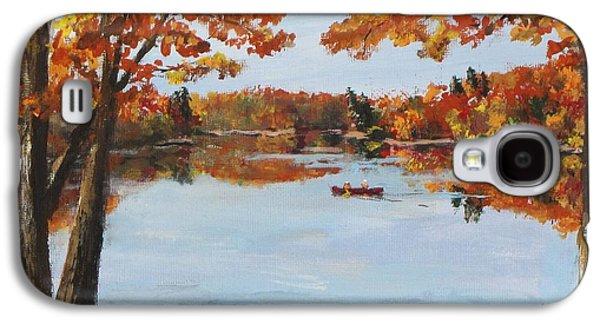 October Morn At Walden Pond Galaxy S4 Case by Jack Skinner